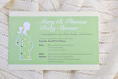 spring sundress baby shower invite by Milk & Ice Cream