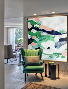 Hand Made Large Acrylic Painting On Canvas, Abstract Painting Canvas Art. Large Wall Art Canvast - By Biao, Celine Ziang Art Acrylic Painting Canvas, Abstract Canvas, Abstract Paintings, Large Scale Art, Large Canvas Wall Art, Large Canvas Ideas, Large Artwork, Decoration Design, Living Room Art
