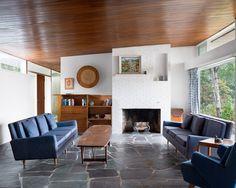 <p>Scott House, Dennis MA</p>                  <p>Architect: Marcel Breuer</p>