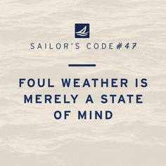 For those still suffering in the cold... #sailorscode