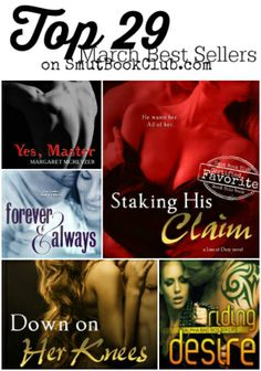 Now with a giveaway! http://smutbookclub.com/top-29-march-best-sellers/