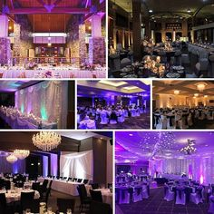 WEDDING TIP :: Use Uplighting to create a HUGE impact at your wedding reception without hurting your budget. Contact us (1300 736 233) today to see what our Lighting Designers can create for you.    More info and pics can be found at http://weddinglightin