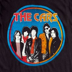 'The Cars' Concert T-shirt | NiftyThrifty