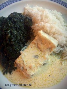 Fisch mit Spinat #rezept #recipe #food #cooking #kochen #gourmetkater