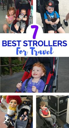 Traveling with babies or toddlers? 7 of the best travel strollers for flying with kids or road trips, as recommended by family travel experts.