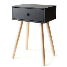 2-Tone Side Drawer - Black