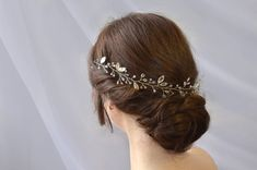 Long Bridal Hair, Bridal Hair Vine, Cool Haircuts For Girls, Wedding Hair Pieces, Boho Hairstyles, Hair Jewelry, Hair Pins, Headpiece, Hair Cut