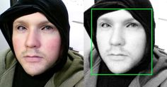 If everyone wore this mask, Big Brother's facial recognition software won't work
