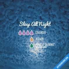 Sleep All Night - Essential Oil Diffuser Blend