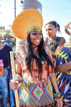 Zulu Traditional Attire, Zulu Traditional Wedding, South African Traditional Dresses, Traditional Outfits, African Attire, African Dress, African Beauty, African Fashion, Zulu Wedding
