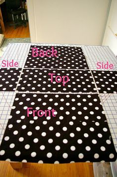 Machine Cover Tutorial **add interfacing to stiffen**
