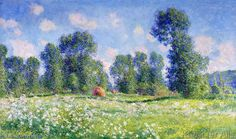 Claude Monet - Effect of Spring, Giverny, 1890