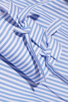 J.W.Anderson | Striped cotton and gingham shirt dress | NET-A-PORTER.COM