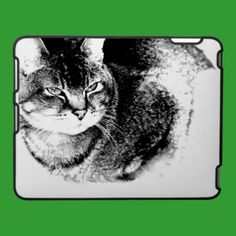 Watchful Cat iPad Speck Case