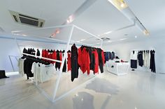 YNOT pop-up store by Andy Tong Interiors, Hong Kong
