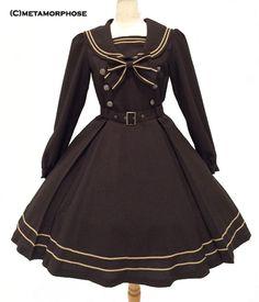 2015.11.13 NEW ! Long Sleeves Sailor Dress - metamorphose temps de fille