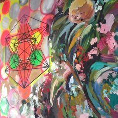 AASB I, acrylics on canvas, 250 x 150 cm