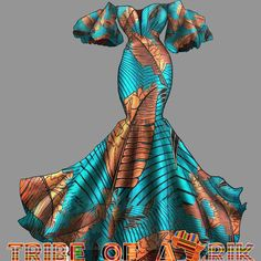 TribeOfAfrik shared a new photo on Etsy Style Inspiration: Prom Dress, African Prom Dress, African Print Dress, African Clothing , Ankara P African Prom Dresses, African Dresses For Women, African Attire, African Wear, African Style, Ankara Dress Styles, African Outfits, African Dress Styles, Modern African Dresses