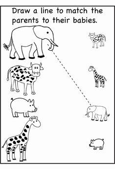 Preschool Worksheets Age 2 2