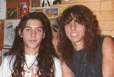 Paul Masvidal and Chuck Chuck Schuldiner, Dimebag Darrell, Metal Albums, Glam Metal, Heavy Metal Music, Progressive Rock, Thrash Metal, Metalhead, Death Metal
