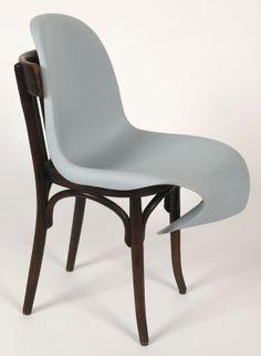 Panton Chair revisited by Noé Duchauffour Lawrance