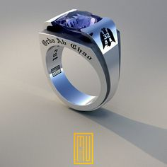 AASR 32 Degree Masonic Rings Unique Design for by MuDesignJewelry