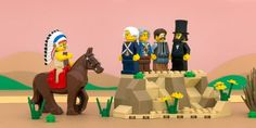 All 50 states done in fun-loving Lego vignettes.  Some creative license used due to confines of working entirely with Legoes.  Check out Iowa, Kansas, Minnesota, Hawaii, etc.  They are all amazing, and fun.