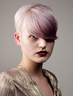 Id possibly like a little peekaboo color in my bangs, not this bold though