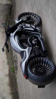 Vrod Custom, Custom Harleys, Custom Choppers, Chopper Motorcycle, Motorcycle Design, Custom Street Bikes, Custom Bikes, Cb 600 Hornet, Vespa Scooter