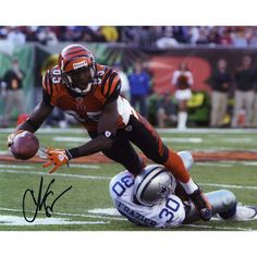 Chad Johnson Cincinnati Bengals Fanatics Authentic Autographed 8'' x 10'' vs. Dallas Cowboys Photograph - $59.99