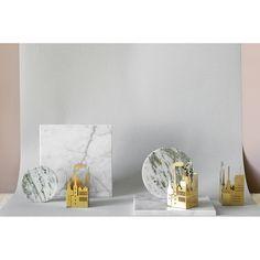 The Factory candle holder, brass – Skultuna #interior #design #scandinavian