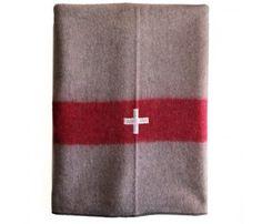 Vintage Swiss Blanket