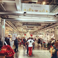 #Redpants go out.  Eataly Rome