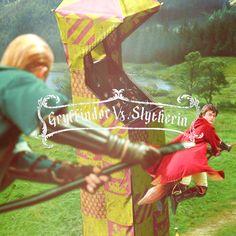 Gryffindor vs. Slytherin