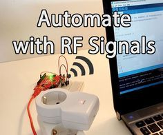 Picture of Introduction to Home Automation With Arduino and RF Signals! - Home Technology Home Automation System, Smart Home Automation, Cute Dorm Rooms, Cool Rooms, Diy Electronics, Electronics Projects, Home Design, Bright Rooms, Farmhouse Side Table