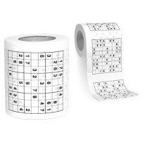 Papier toaletowy Sudoku - dla łebskich  #sudoku #łazienka
