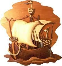 Resultado de imagen para talla de barcos en madera