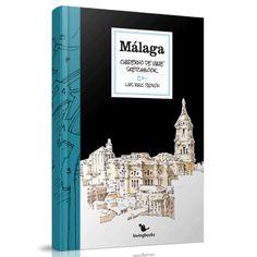 """Observa Málaga con los ojos del @urbansketcher J.L. Padrón con su """"Cuaderno de Viaje-Sketchbook"""", en #LibreríaMPM"""