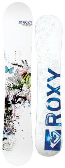 My Snowboard. Roxy Silhouette.