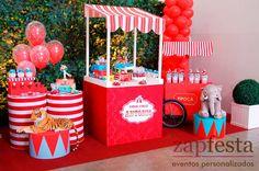 festa de circo vintage - Pesquisa Google