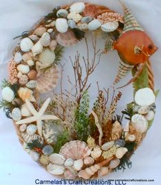 Under the Sea Beach Wreath
