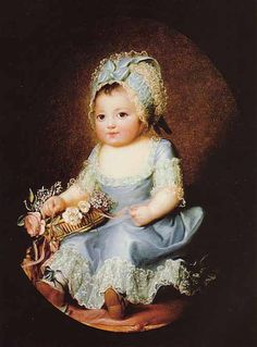 The Athenaeum -  Mademoiselle D'Artois Élisabeth Vigée-Lebrun - 1777 Private collection Painting - oil on canvas
