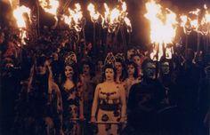 Beltane Fire Festival procession