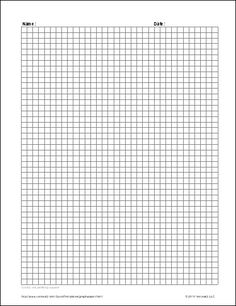 Download the Graph Paper Grids for Excel from Vertex42.com