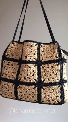 Bag Crochet, Crochet Handbags, Crochet Beach Bags, Knit Bag, Filet Crochet, Bag Pattern Free, Tote Pattern, Boho Accessories, Boho Bags