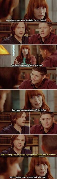 Brilliant scene with Felicia Day ~Supernatural