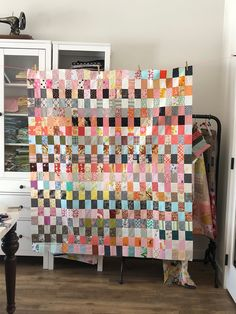 The last few weeks I've been chugging away on cutting up all my scraps and making them into quilt tops. Owl Quilts, Pink Quilts, Scrappy Quilts, Baby Quilt Patterns, Owl Patterns, Ideas Scrap, Low Volume Quilt, Crumb Quilt, Elephant Quilt