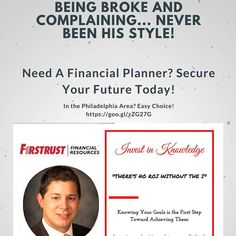 Let him help you create your own good fortune. -#finances  You're only a few questions and an asset map away from securing your future. - #financialfreedom  Reach Your Future Advisor @dylamborn by email at dlamborn@ffremail.com.