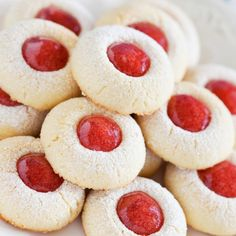 This recipe for Almond Thumbprint Shortbread Cookies makes cookies that will melt in your mouth.