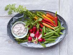 Crudites With Olive Butter from #FNMag